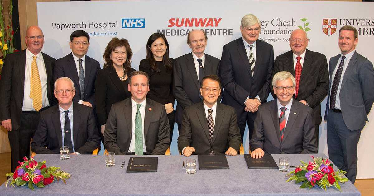 Cambridge-Sunway Partnership To Tackle Healthcare Problems