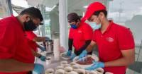 Feeding the Homeless and Sharing the Joy of Buka Puasa