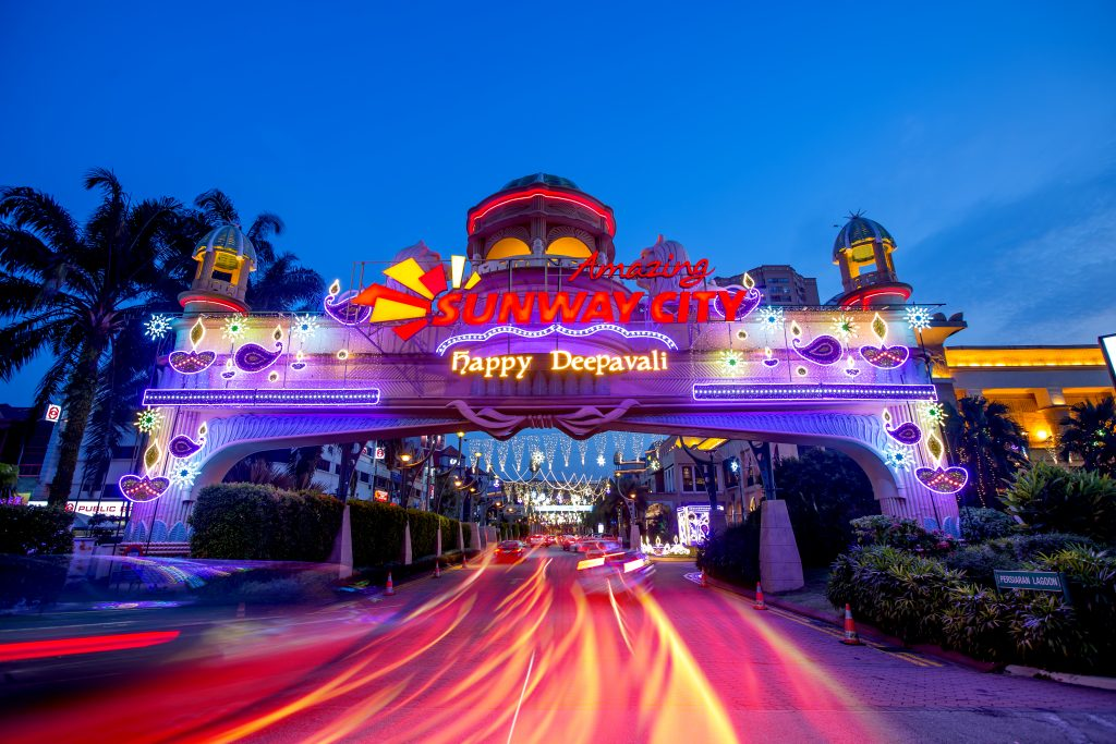 Bask in Spectacular Festive Streetlights at Sunway City