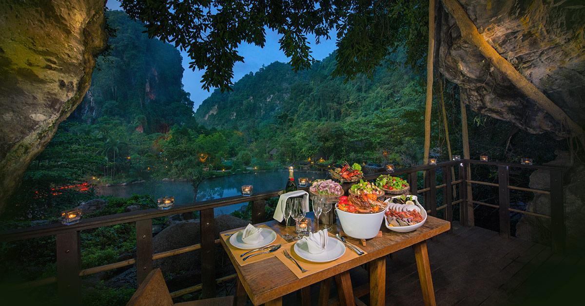 Balcony BBQ Dining at The Banjaran