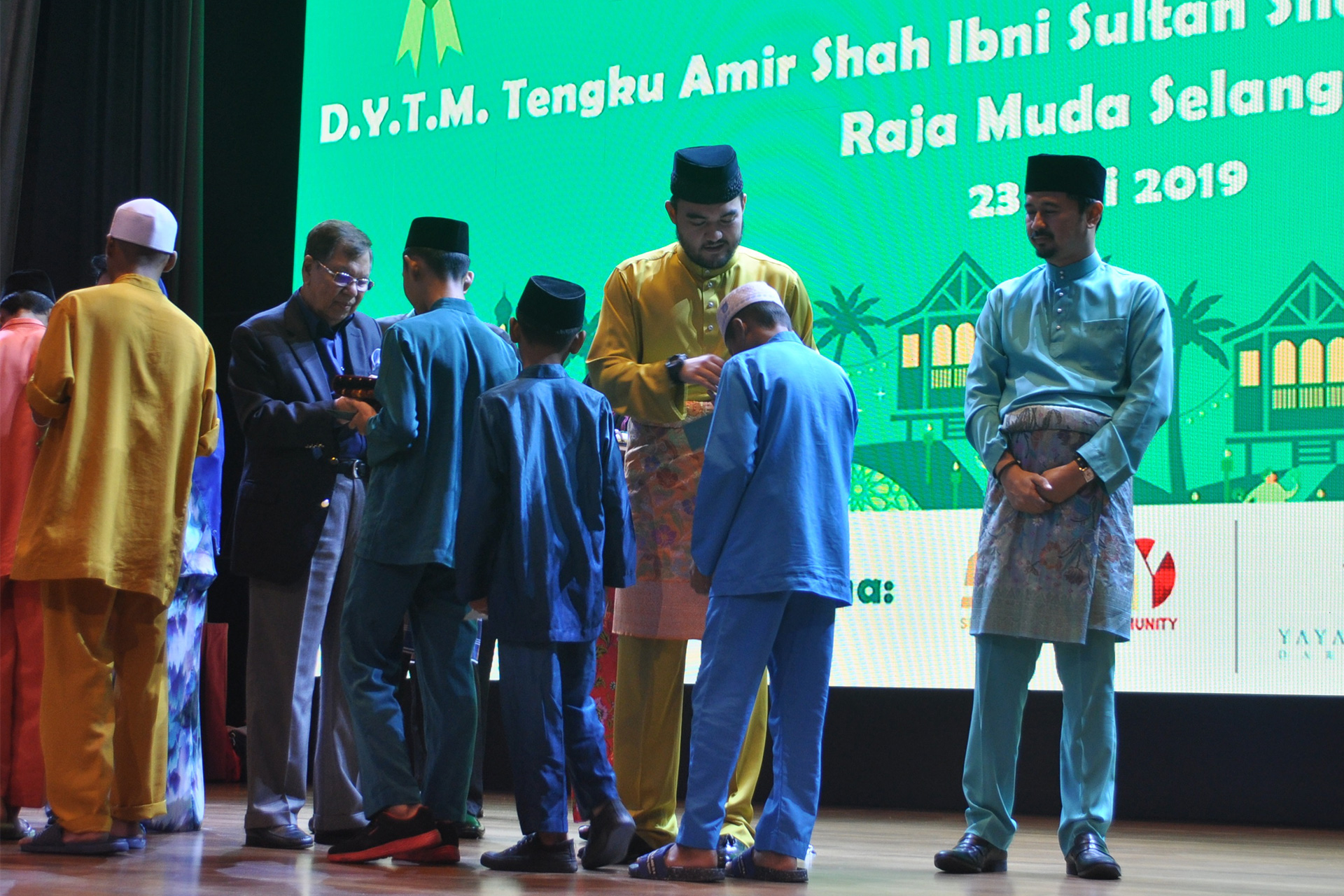 Sunway Group Brings Raya Cheer to Klang Valley's Orphans and Stateless Children