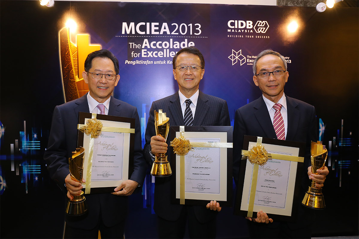 2014-Prominent Player Award by Construction Industry Development Board Malaysia